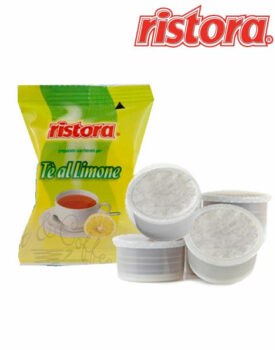 cialde capsule lavazza espresso point compatibili tè al limone the tea EP Ristora